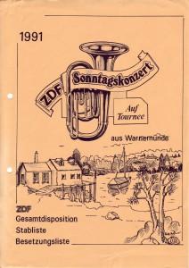 Historie 1991 ZDF Sonntagskonzert